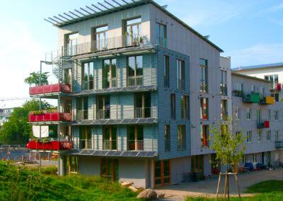 Wohn- und Geschäfts-Passivhaus