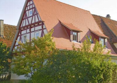 Haus mit neuemDach